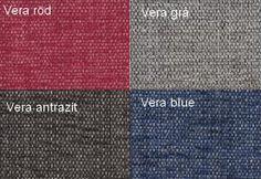 Vera Röd / Vera Grå / Vera Antrazit / Vera Blå Från Hovden Vera Red / Vera Grey / Vera Anthracite / Vera Blue From Hovden