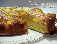 i dolci di laura: torta rustica di mele
