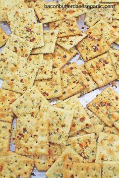 Bacon, Butter, Cheese & Garlic: Fire Crackers