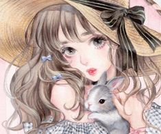 Image about girl in Manga by xChibiRin on We Heart It Girls Anime, Anime Art Girl, Manga Girl, Manga Anime, Aesthetic Art, Aesthetic Anime, Cute Art Styles, Korean Art, Human Art