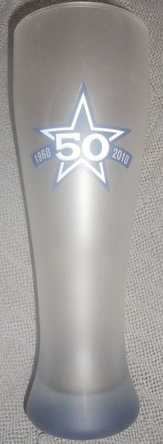 NEW DALLAS COWBOYS NFL FOOTBALL BEER GLASS PILSNER 50 YRS OF COWBOYS 20 oz FROST in Sports Mem, Cards & Fan Shop, Fan Apparel & Souvenirs, Football-NFL | eBay