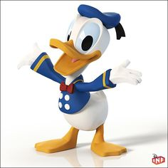 I would like this Donald Duck Disney Infinity Figure Disney Pixar, Walt Disney Characters, Walt Disney Co, Disney Duck, Disney Infinity, Don Rosa, Crocodile Cartoon, Duck Wallpaper, Looney Tunes Bugs Bunny
