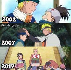 Naruto and Konohamaru Naruto Cute, Naruto Sasuke Sakura, Kakashi, Anime Naruto, Naruto Shippuden, Otaku Anime, Anime Meme, Shikamaru, Gaara