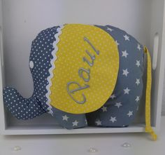 Kuscheltier Baby Kind, Etsy, Personalized Gifts, Special Gifts, Cuddling, Fabrics, Deco