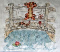 Tigger Cross Stitch