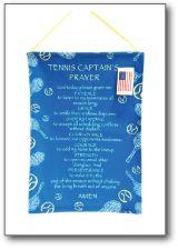Tennis Captain's Prayer Banner