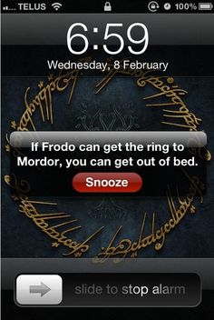 Get inspired by Frodo