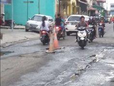 Jalan Baru di Kota Dumai Ancam Keselamatan Warga, 'Pemeliharaan Setiap Tahun Kan Ada'