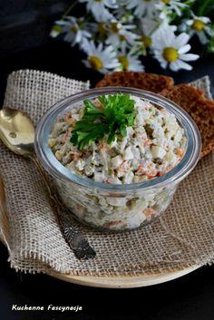 Sałatka jarzynowa Grains, Rice, Cooking, Food, Kitchen, Essen, Meals, Seeds, Yemek