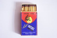 Vintage collectible matchboxe original matches by MatchHouse