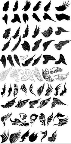 @April Cochran-Smith Cochran-Smith Cochran-Smith McDowell here are some feather options to look at for those wings... ;)