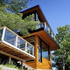 Altius Architecture Inc. | Six Mile Lake Cottage | Township of Georgian Bay, District of Muskoka, Ontario, Canada