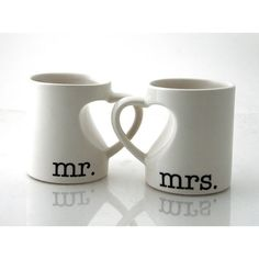 Mr & Mrs. mug set for couples, bride and groom, we ($25.00). I am not engaged (don´t even have a boyfriend!) but this is a cheesy cuteness ^^