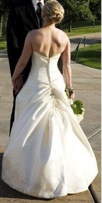 Types Of Wedding Gown Bustles