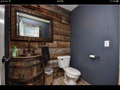 Farm House, Toilet, Mirror, Bathroom, Frame, Furniture, Home Decor, Washroom, Picture Frame