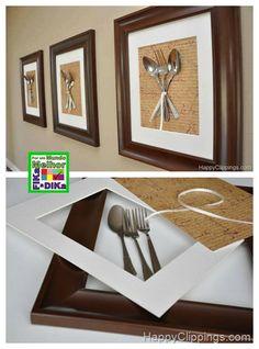 Vou trazer paraessa publicação, ideias para decorarmos e de utensílios com coisas recicláveis para a cozinha. Quem tiver uma decoração qu...