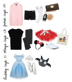 """Halloween Risky, Minnie and Cinderella style"" by prep-family ❤ liked on Polyvore featuring Polo Ralph Lauren, NIKE, Isabel Marant, Disney, Madewell, Converse, Michael Kors, INC International Concepts, Halloween and preppy"