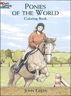 Ponies of the World Coloring Book | Main photo (Cover)