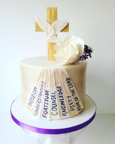Confirmation cake - Cake by Bella's Cakes
