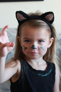 kids cat makeup for halloween - Google Search
