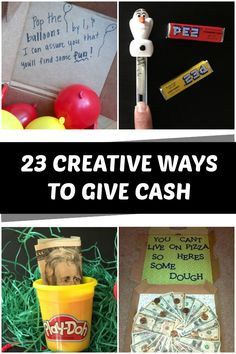 Creative Ways to Give Money - C.R.A.F.T.