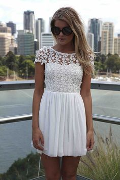 another option for a rehearsal dress? or wedding dress shopping day? LOVE this! So super cute!!