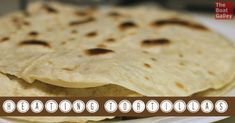 You might say I was a bit naive when we first went to Mexico . . . I didn't know that tortillas had to be heated up. But a friend showed me how to do it and they are so much better . . .
