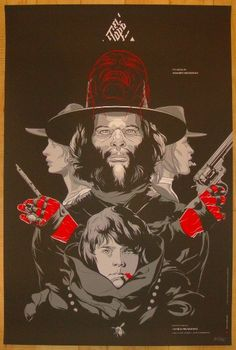 "El Topo - silkscreen movie poster (click image for more detail) Artist: Martin Ansin Venue: Cinema Du Parc Location: Montreal, QC Date: 10/31/2010 Edition: 265; numbered Size: 24"" x 36"" Condition: Min"