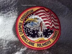 NASA Space Shuttle Mission  STS-36 1990 Vintage Patch  Crew Names on Patch: CASPER, CREIGHTON, MULLANE, HILMERS, THUOT  Measure approx 3  Please see all pictures. Ask any and all questions before bidding/purchasing. I am a reliable seller. I have been selling online for years. I was away from selling for a few years due to health reasons and my prior id had numerous positive feedback. I am selling my sister-in-laws estate for the family. She was a HUGE NASA fan and had a close friend who...