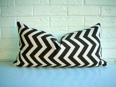 Decorative Throw Pillow Cover Lumbar  Mid by habitationBoheme, $32.00