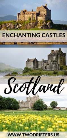 Scotland is an amazing country. Filled with history, myth, and even a bit of magic. This list shares the very best castles in Scotland you truly MUST visit. #castles #scotland #travel Things to do in Scotland | Scottish castles | Castles of Scotland | Scotland travel guide