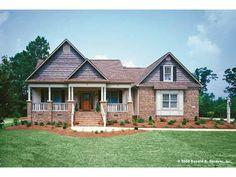 Eplans Country House Plan - Stylish and Sensible - 1724 Square Feet and 3 Bedrooms from Eplans - House Plan Code HWEPL07335