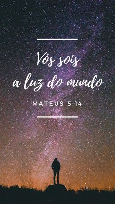 Mateus 5:14  Plano de fundo Luz do mundo Gospel