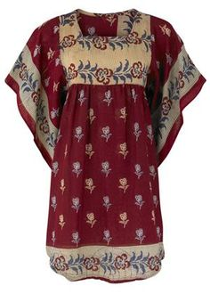 On my wishlist - recycled sari dress from People Tree