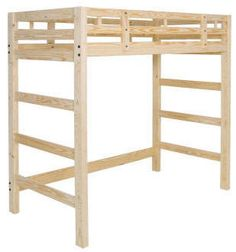 1000 Images About Diy Queen Loft Bed On Pinterest Loft Beds Futon Bunk Bed And Queen Loft Beds
