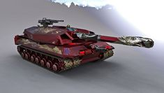 Imperial Balkaner Tank by Kemp Remillard Tactical Truck, Military Armor, L5r, Cool Tanks, Tank Design, Battle Tank, Armored Vehicles, War Machine, Sportbikes