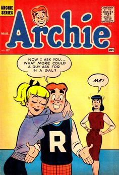 A cover gallery for the comic book Archie Archie Comics Characters, Archie Comic Books, Vintage Comic Books, Comic Book Characters, Vintage Comics, Comic Books Art, Comic Art, Classic Comics, Classic Cartoons