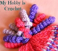 My Hobby Is Crochet: Curlicues- crochet charts and written instructions by Kinga E.