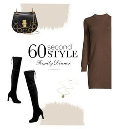 """""""60 Second Style"""" by almafainer ❤ liked on Polyvore featuring Stuart Weitzman and Chloé"""