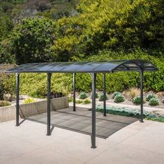 The wooden pergola is a good solution to add beauty to your garden. If you are not ready to spend thousands of dollars for building a cozy pergola then you may devise new strategies of trying out something different so that you can re Carport Canopy, Pergola Carport, Building A Pergola, Pergola Plans, Carport Plans, Carport Ideas, Carport Garage, Diy Pergola, Carport Kits