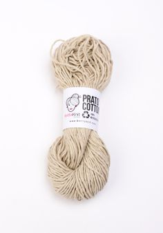 Prato Cotton - Sand 100% recycled – 100% ecological www.bettaknit.com