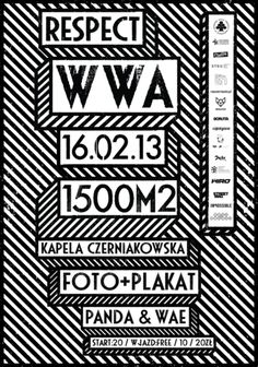 2 machalski respect wwa poster by mateusz machalski