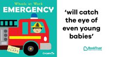 Twitter / BookTrust  ‏  Verified account     @Booktrust   4h4 hours ago  More  🚑 🚨 🚒 NEE NAW! 🚒 🚨 🚑  Our #BookOfTheDay is Cocoretto's glossy board book #WheelsAtWorkEmergency: https://www.booktrust.org.uk/book/e/emergency/ … @ChildsPlayBooks