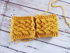 Woven cable headband by Priscillia Uloho – Erica and Eleanor Knitting Blogs, Free Knitting, Knitting Ideas, Knitting Projects, Knitting Basics, Vogue Knitting, Knitting Tutorials, Easy Crochet Headbands, Knitted Headband Free Pattern