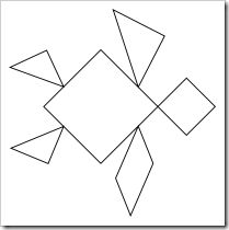 graphic relating to Printable Tangram known as Pinterest