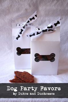 #ad doggy bag party favors with healthy dog treats #NudgesMoments #cbias