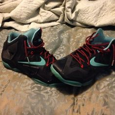 Lebron 11 Worn a couple of times but still in good condition. Nike Shoes