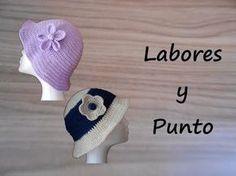 ▶ Aprende a tejer este gorro a ganchillo o crochet- Parte 2 de 2 - YouTube Diy Crochet, Crochet Top, Crochet Hats, Sombrero A Crochet, Crochet Videos, Crochet Accessories, Beanie Hats, Mittens, Headbands