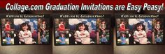 Collage.com Graduation Invitations are Easy Peasy! - My Best of Both WorldsMy Best of Both Worlds #Collage_Com #Graduation #invitations #photo #invites #personalizedphotogifts #review #sp