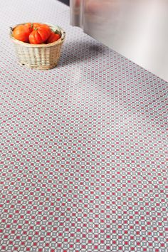 Red Stars Vinyl Flooring. Retro Vinyl Floor tiles for your home